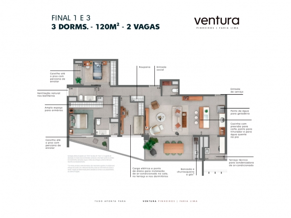Ventura Pinheiros Faria Lima- Atendimento Especializado (11) 4116-9995 | 98026-0864